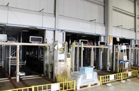 現在NAS鎌倉工場で稼働中の立体自動倉庫