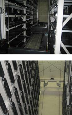 上下:廣宣寺納骨堂内・霊室部分